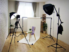 商品撮影スタジオ