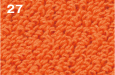 PANTONE 811 蛍光オレンジ