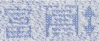 織姫 パイル部分:文字の高さ 2cm